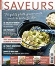 Saveurs n° 241 - Octobre - Novembre 2017 ; 76 petits plats gourmands pour se faire du bien