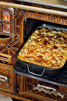 Tartiflette aux topinambours