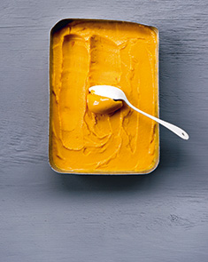 Glace minute mangue-passion