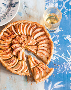 Tarte pomme-cannelle