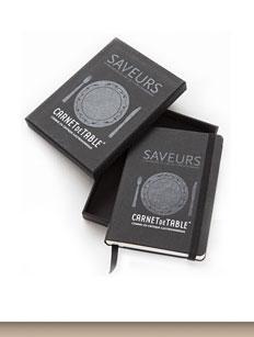 Mon carnet de table Saveurs