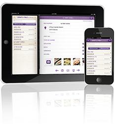 Application Carnet de table pour iPhone et iPad